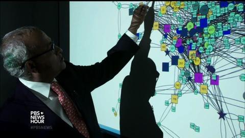 PBS NewsHour -- Inside the high-tech hunt for terrorists