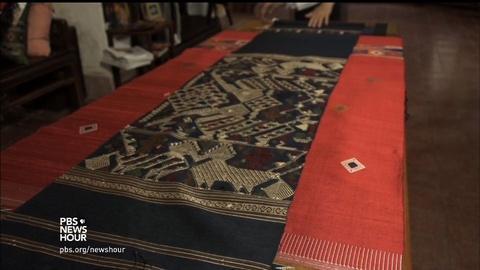 PBS NewsHour -- The weaver who helped resurrect an endangered Lao artform