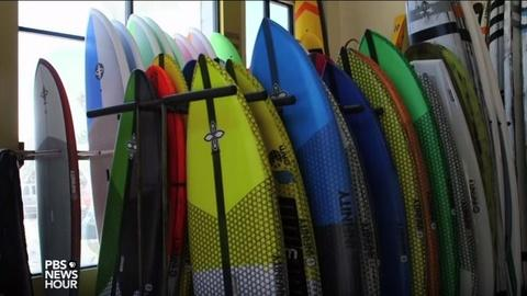 PBS NewsHour -- How one company is trying to surf the tides of foreign trade