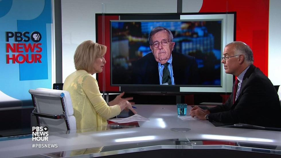 Shields and Brooks on high stakes for debate moderators image