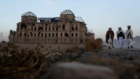 PBS NewsHour -- Rebuilding a palace, restoring Afghanistan's independence