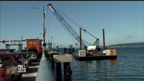 PBS NewsHour -- Turning down the volume on noise pollution for marine life