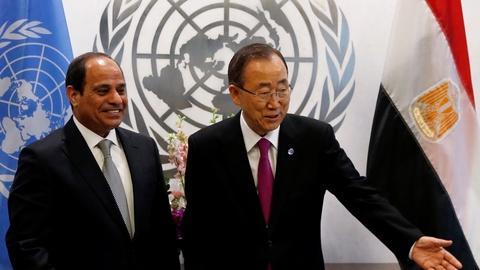 PBS NewsHour -- UN issues unprecedented declaration on refugee crisis