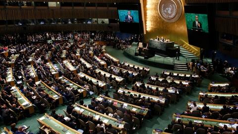 PBS NewsHour -- Dangers of isolationism, Syria top Obama's last UN address