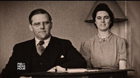 PBS NewsHour -- How a Mass. couple saved thousands from Nazi death camps