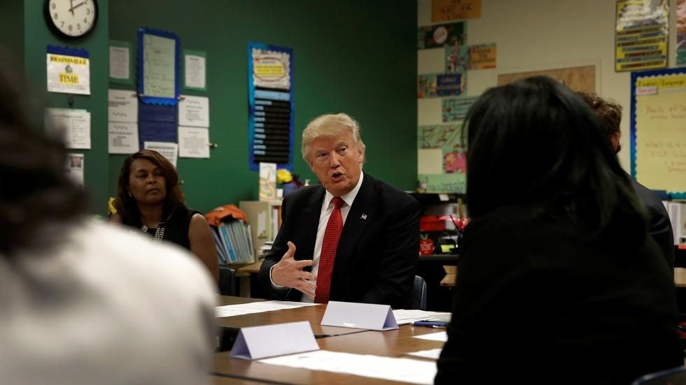 What Clinton and Trump are saying about education reform image