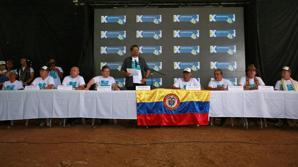 FARC holds final summit as an armed rebel group image