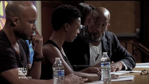 PBS NewsHour -- Using an ancient Greek tragedy to face trauma in Ferguson?