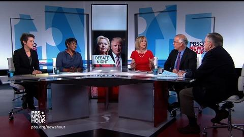 PBS NewsHour -- First debate predictions in an unpredictable election year