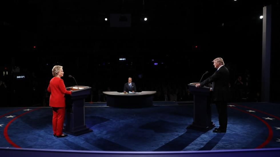 Watch the full first presidential debate image