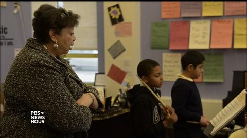 PBS NewsHour -- Boston brings the music back by boosting arts education