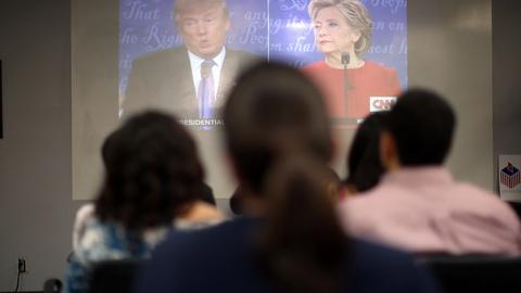 PBS NewsHour -- The facts behind Trump and Clinton's debate talking points
