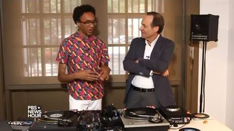 PBS NewsHour -- This DJ mixes local music to create a global sound