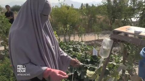 PBS NewsHour -- Helping Afghan women grow financial independence