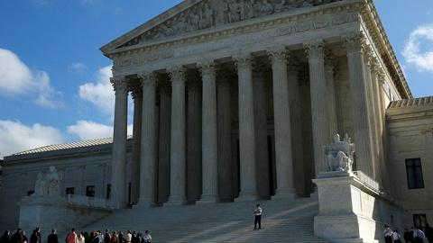 PBS NewsHour -- Will the Supreme Court keep a 'low profile' this term?