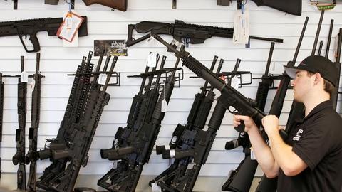 PBS NewsHour -- Where Donald Trump and Hillary Clinton stand on gun control