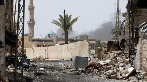 PBS NewsHour -- In Fallujah, ISIS is gone -- but so is everything else