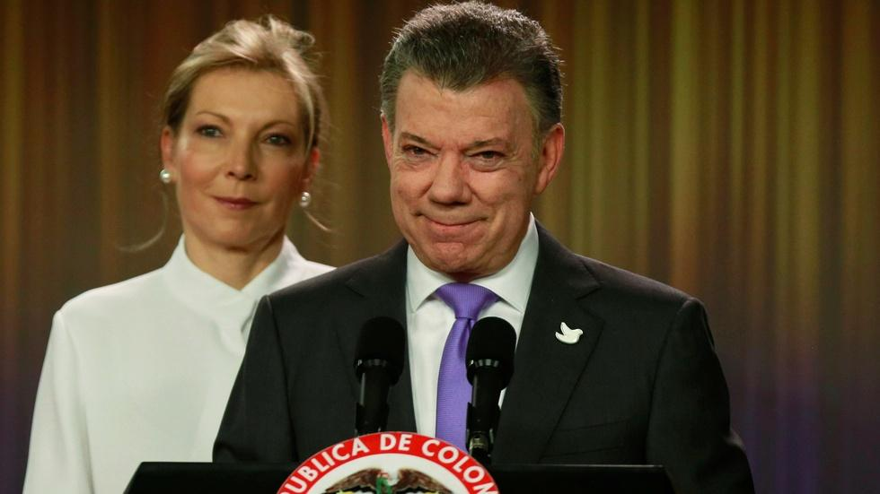Failed FARC deal earns Colombian president Nobel Peace Prize image