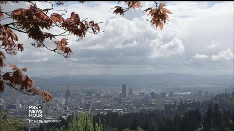 PBS NewsHour -- How moss revealed an undetected threat in Portland