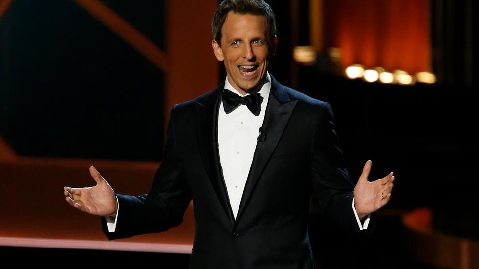 The candidates' flaws are a laughing matter for Seth Meyers image