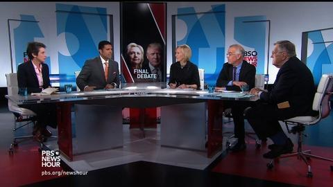 PBS NewsHour -- What the candidates need to do in their last debate