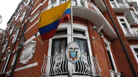 PBS NewsHour -- What's the motive behind Julian Assange's internet ban?