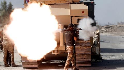 PBS NewsHour -- Petraeus: Bigger challenge to come once Iraq retakes Mosul