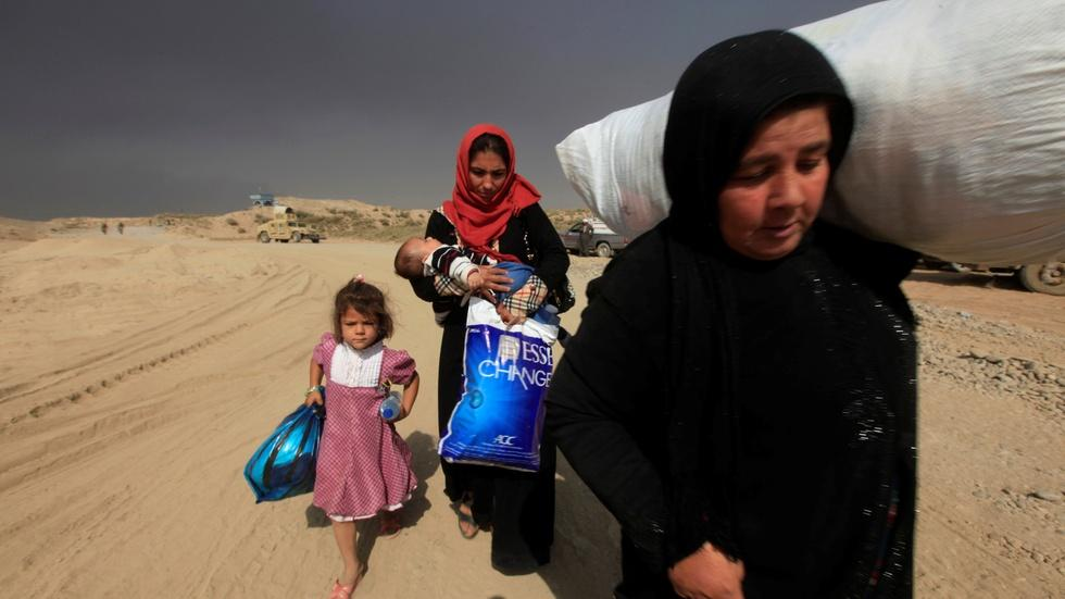 Humanitarian concerns grow in Mosul image