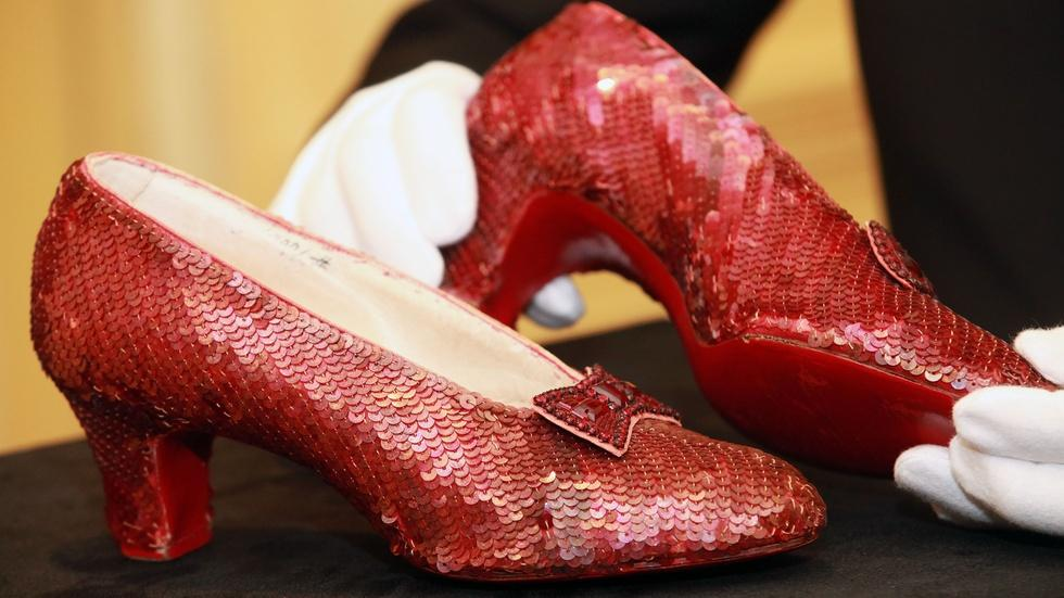 Who's footing the bill to restore the ruby slippers image