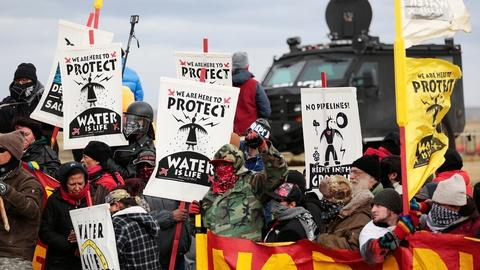 PBS NewsHour -- What's next for Dakota Access protests?