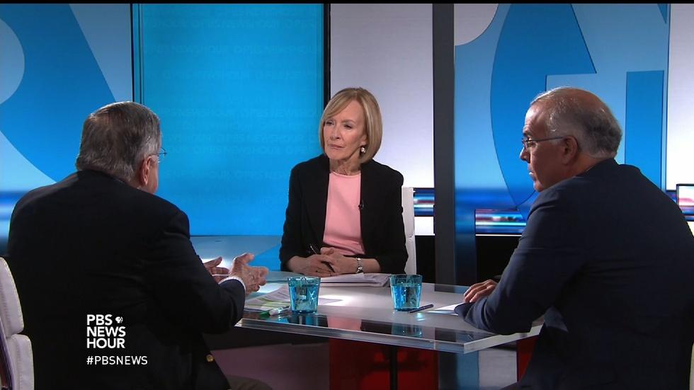 Shields and Brooks on the election's 'parity of sleaze' image