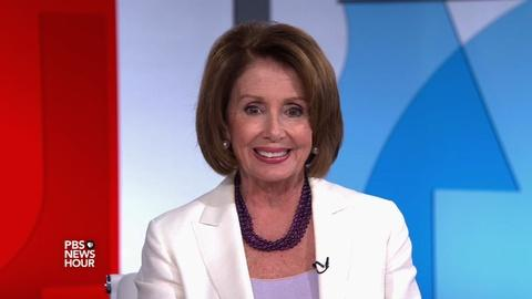 PBS NewsHour -- Nancy Pelosi offers election night predictions