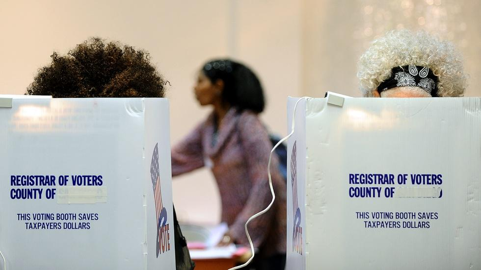 Are voters having problems at the polls? image