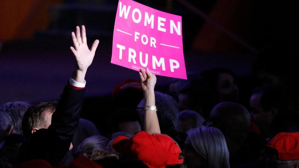 What does the election mean for women in politics? image