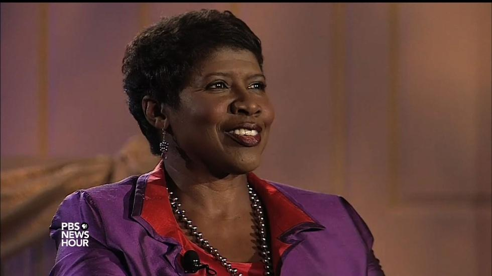 Gwen Ifill on being a little girl transfixed by news image