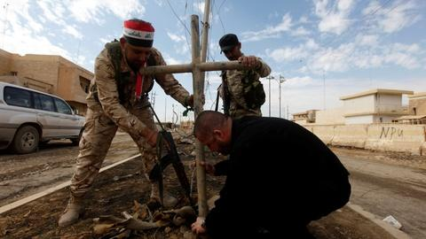 PBS NewsHour -- Survival and sadness in Iraq's Christian towns