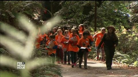 PBS NewsHour -- National parks turn into classrooms for a new generation