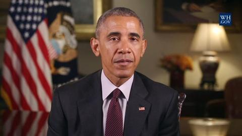 PBS NewsHour -- News Wrap: Obama offers Thanksgiving message of unity