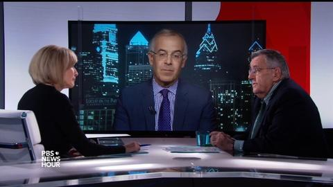 PBS NewsHour -- Shields and Brooks on cabinet picks, conflicts of interest