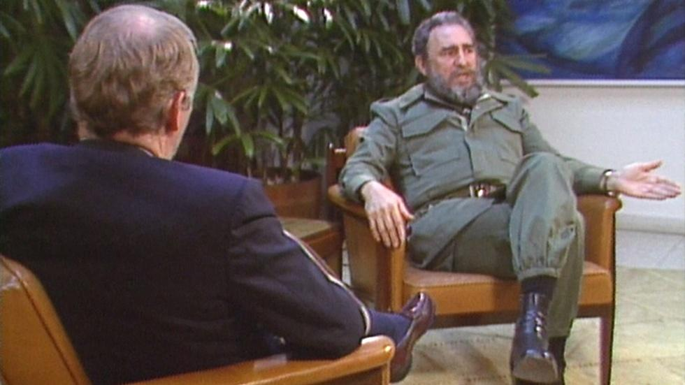 In 1985 interview, Castro spoke of fearing U.S. invasion image