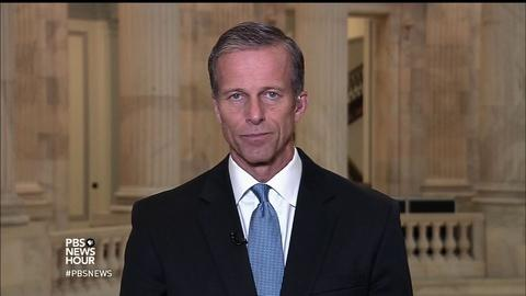 PBS NewsHour -- Sen. Thune on Wilbur Ross, Trump trade policy, entitlements