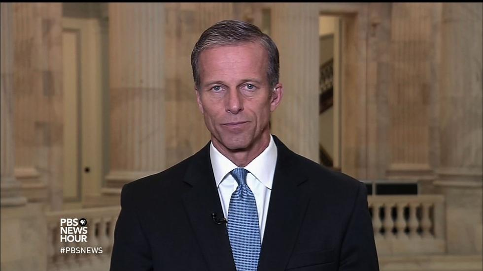 Sen. Thune on Wilbur Ross, Trump trade policy, entitlements image