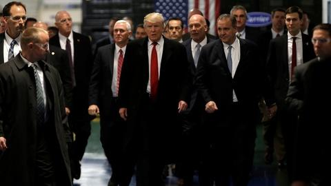 PBS NewsHour -- Trump lauds exchange of tax breaks for Carrier jobs