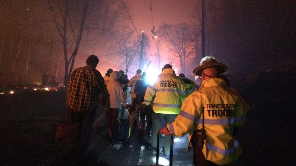 News Wrap: Tennessee wildfire recovery efforts increase image