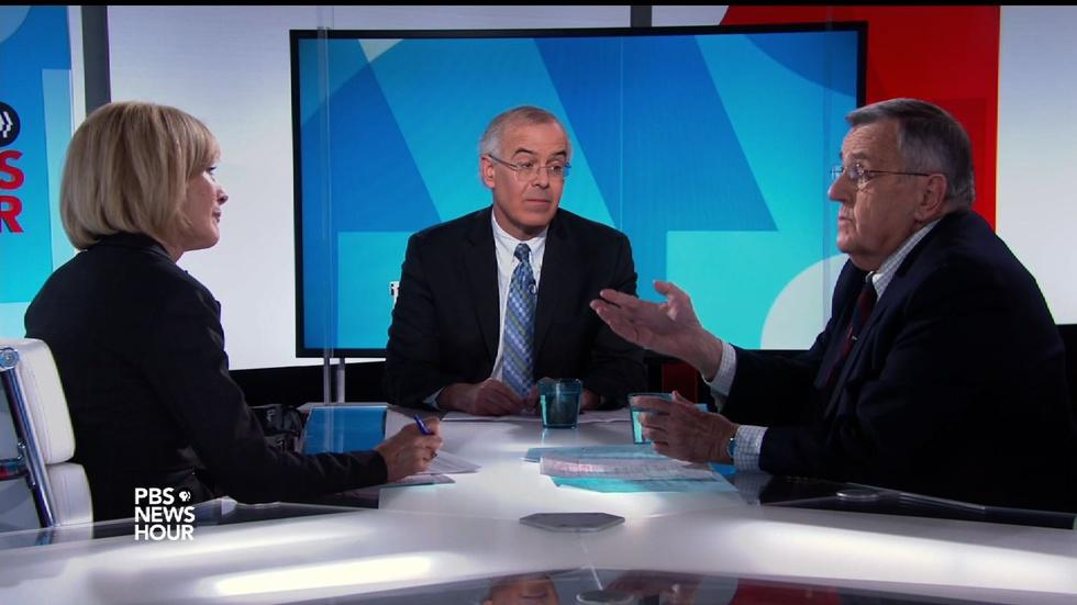 Shields and Brooks on Mattis, the Carrier deal and Pelosi image