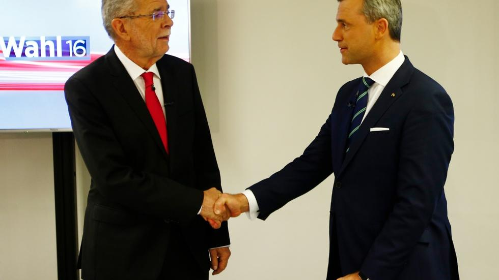 Populist politics play out in Austrian election image