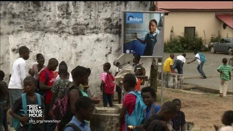 PBS NewsHour -- Private management of Liberian public schools draws scrutiny