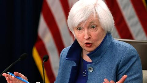PBS NewsHour -- Raising interest rate, Fed sees stronger economy