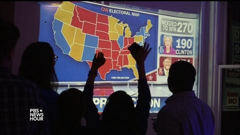 PBS NewsHour -- How prediction market prophets bet on the wrong president