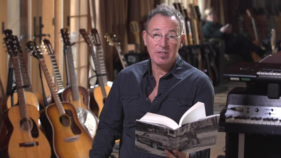 Watch Bruce Springsteen read from his autobiography image